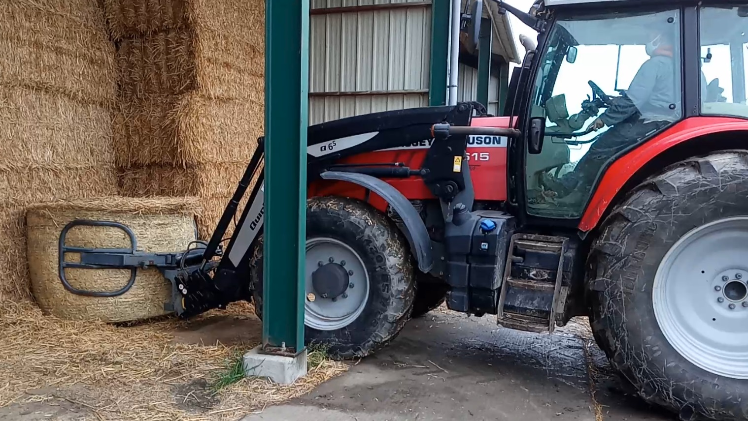 10  Manoeuvre Tracteur Fourche 2 AE
